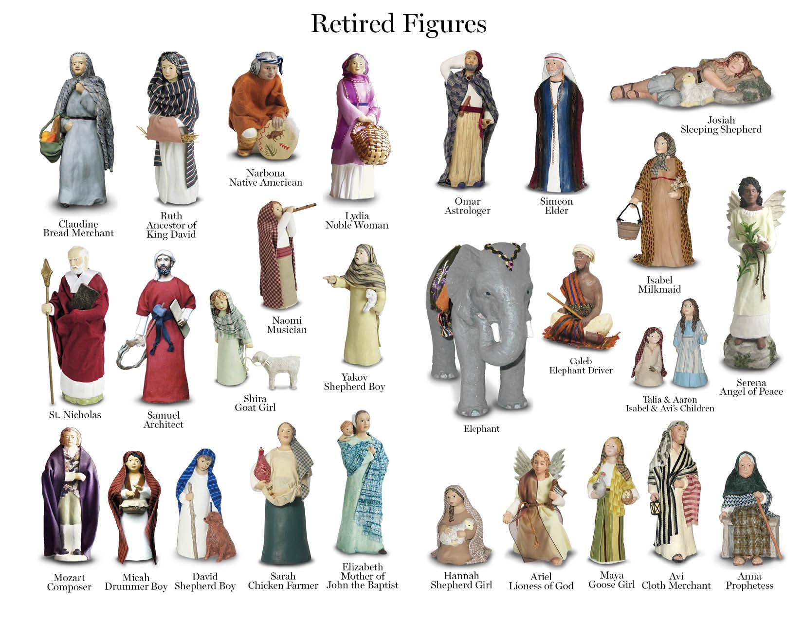 Retired Nativity - Hestia Creations