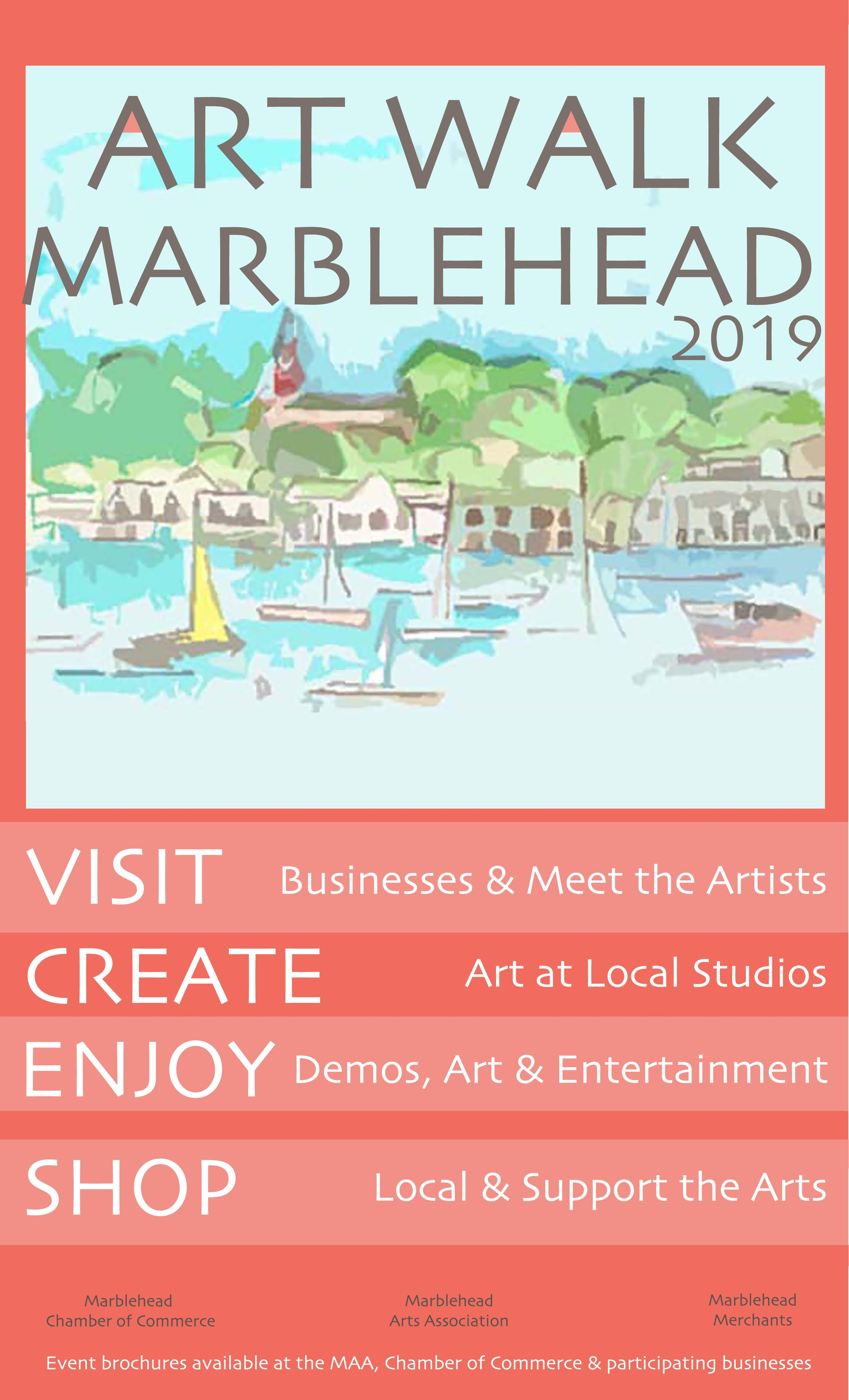 Marblehead ArtWalk 2019 - May 18 & 19, 2019