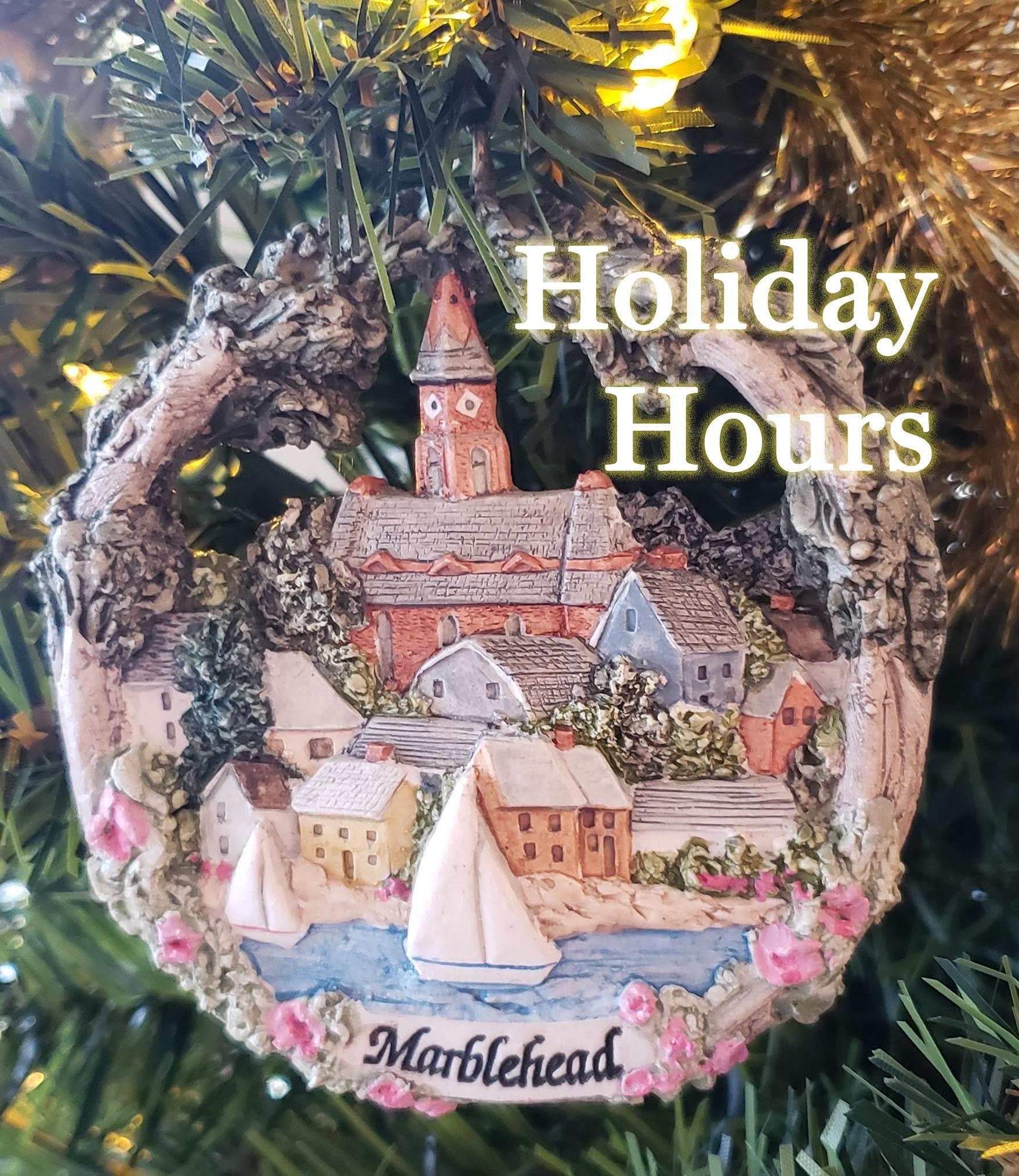 Hestia's Holiday Hours