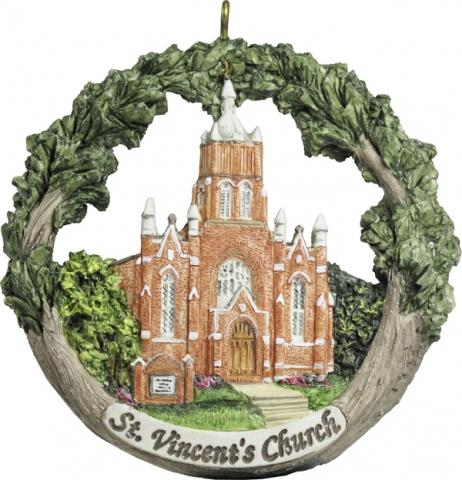 Cape Girardeau ornament #5 - St. Vincent's Church