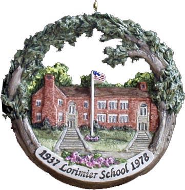 Cape Girardeau ornament #6 - Lorimier School