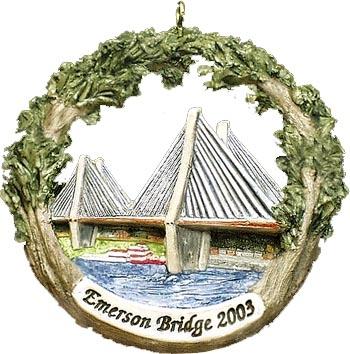Cape Girardeau ornament #7 - Emerson Bridge