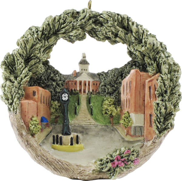Cape Girardeau ornament #1 - Historic Courthouse and Downtown Clock