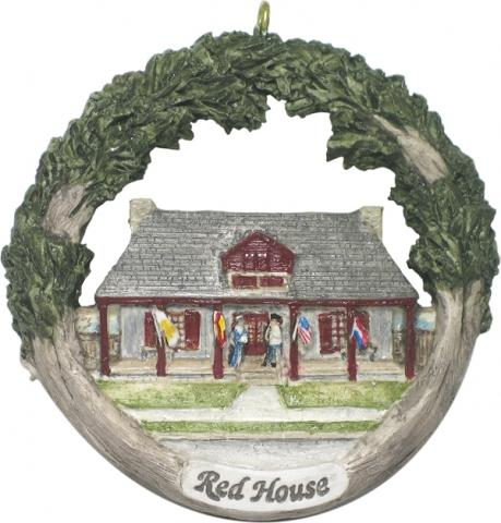 Cape Girardeau ornament #10 - Red House