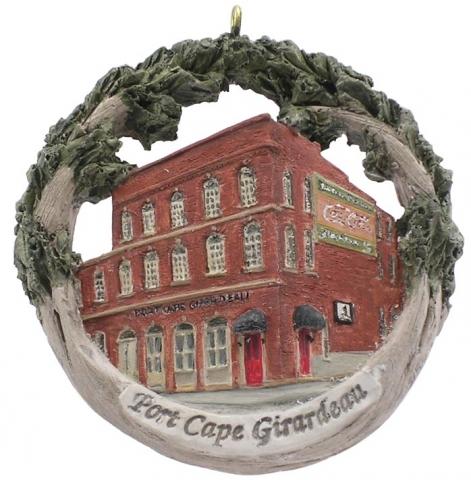 Cape Girardeau ornament #11 - Port Cape Girardeau