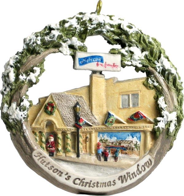 Cape Girardeau ornament #15 - Hutson's Christmas Window
