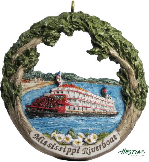 Cape Girardeau ornament #16 - Mississippi Riverboat