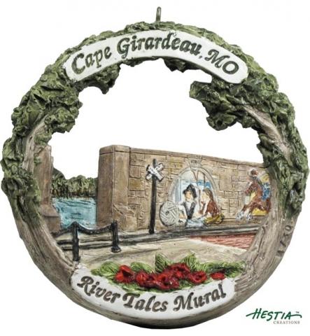 Cape Girardeau ornament #19 - River Tales Mural