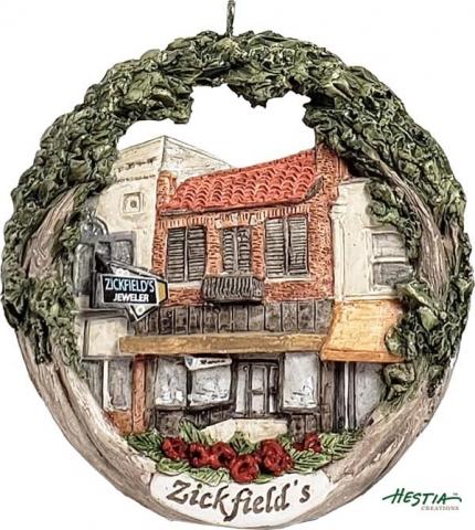 Cape Girardeau ornament #23 - Zickfields Jewelry Store
