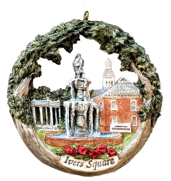 Cape Girardeau ornament #24 - Ivers Square