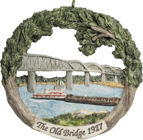 Cape Girardeau ornament #2 - The Old Bridge 1927